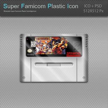 Nintendo Super Famicom Plastic Cartridge Icon