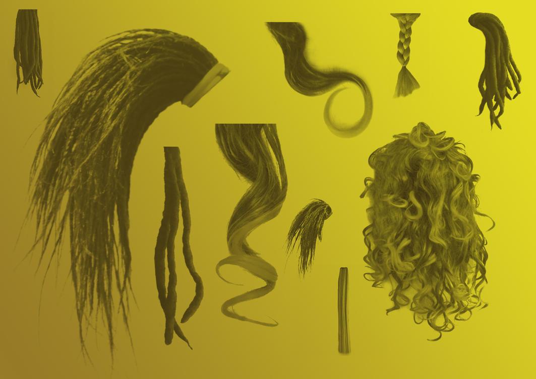 HairBrushes by Helenartathome