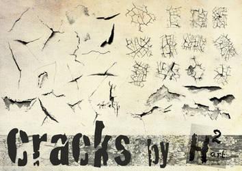 Crack Brushes by Helenartathome