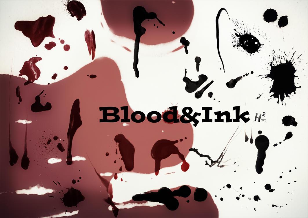 BloodandInk Brushes by Helenartathome