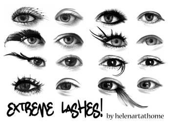 Extreme Lashes! by Helenartathome