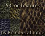 Croc Textures by Helenartathome