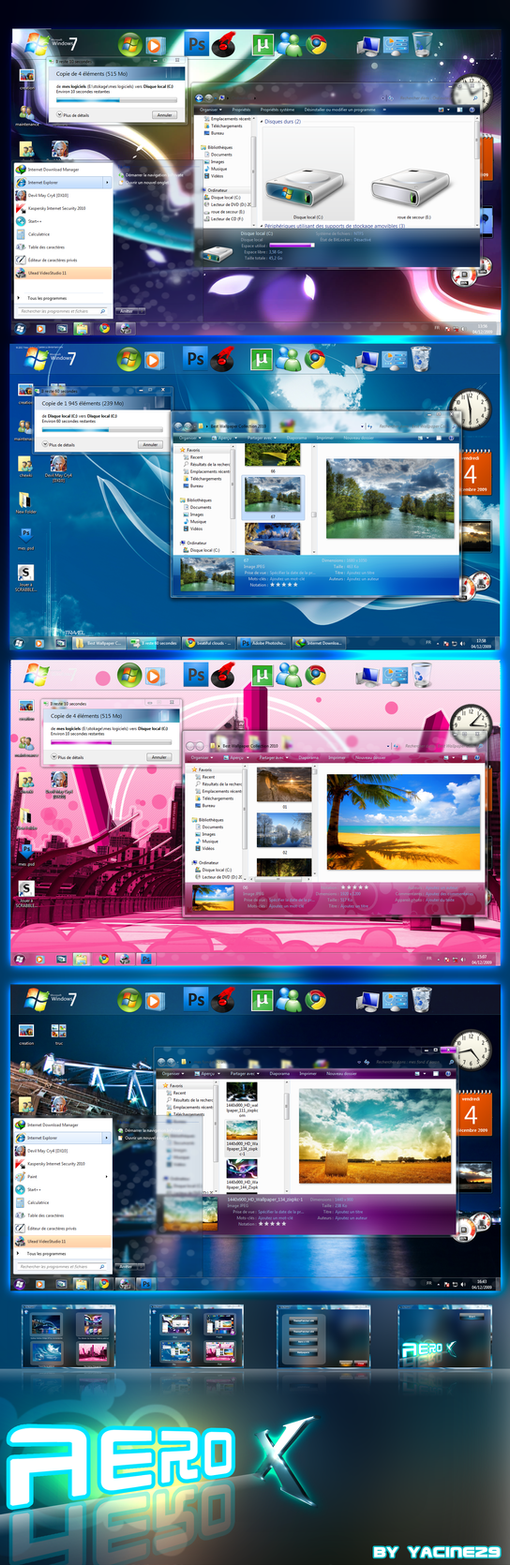 Aero final theme for Windows 7