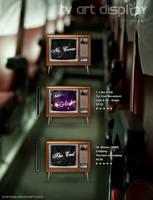 Tv Art Display by yacine29