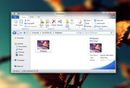 Office 2010 for win8 -mockup-