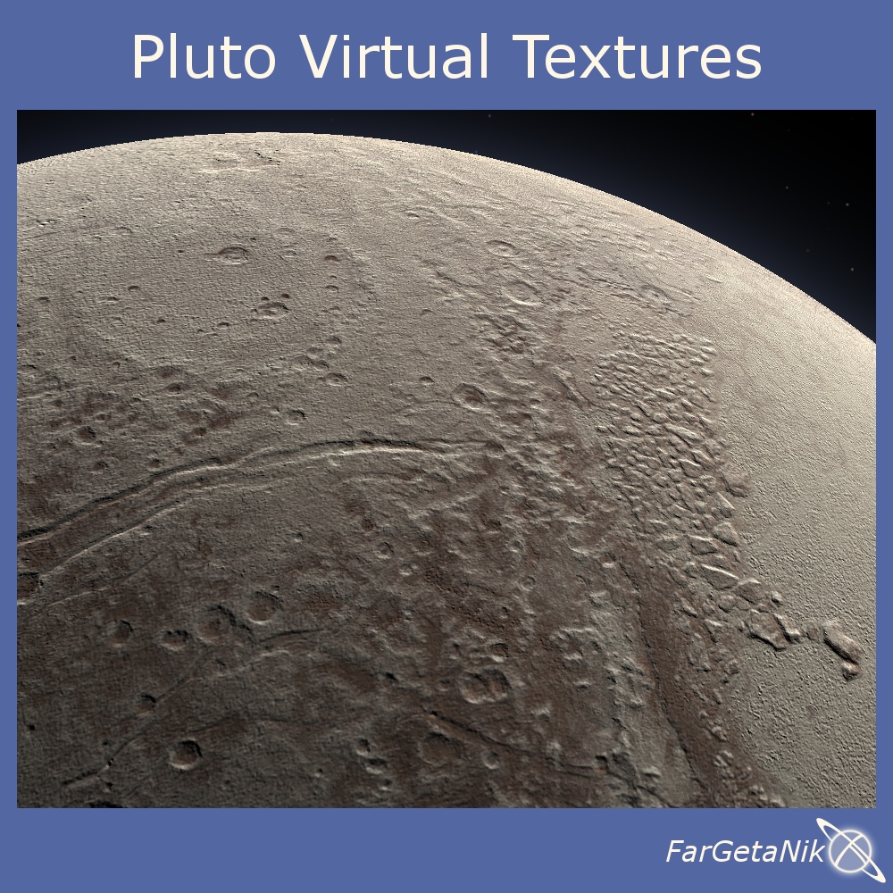 Pluto Virtual Textures - Celestia Addon
