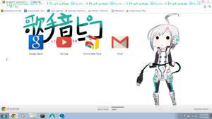 VOCALOID: Utatane Piko Chrome Theme DL