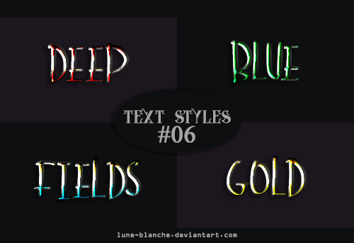 Text Styles #06 by lune-blanche