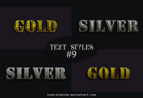 Text Styles #09 by lune-blanche