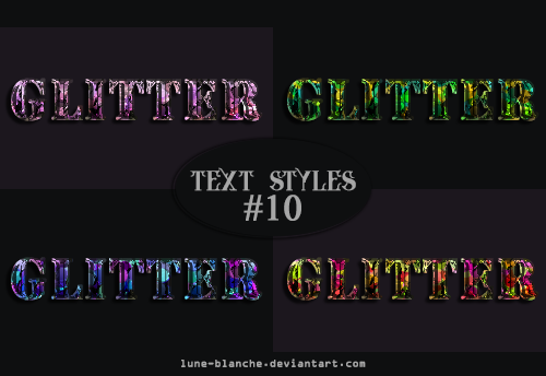 Text Styles #10 by lune-blanche