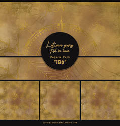 Papers pack #106 - Let our scars fall in love