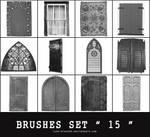 BRUSHES SET # 15