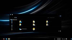Windows 10 hc black