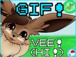 [GIF] Vee! Hi!