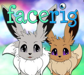 [LIVE2D FACERIG] Eevees Male Female and Shinies
