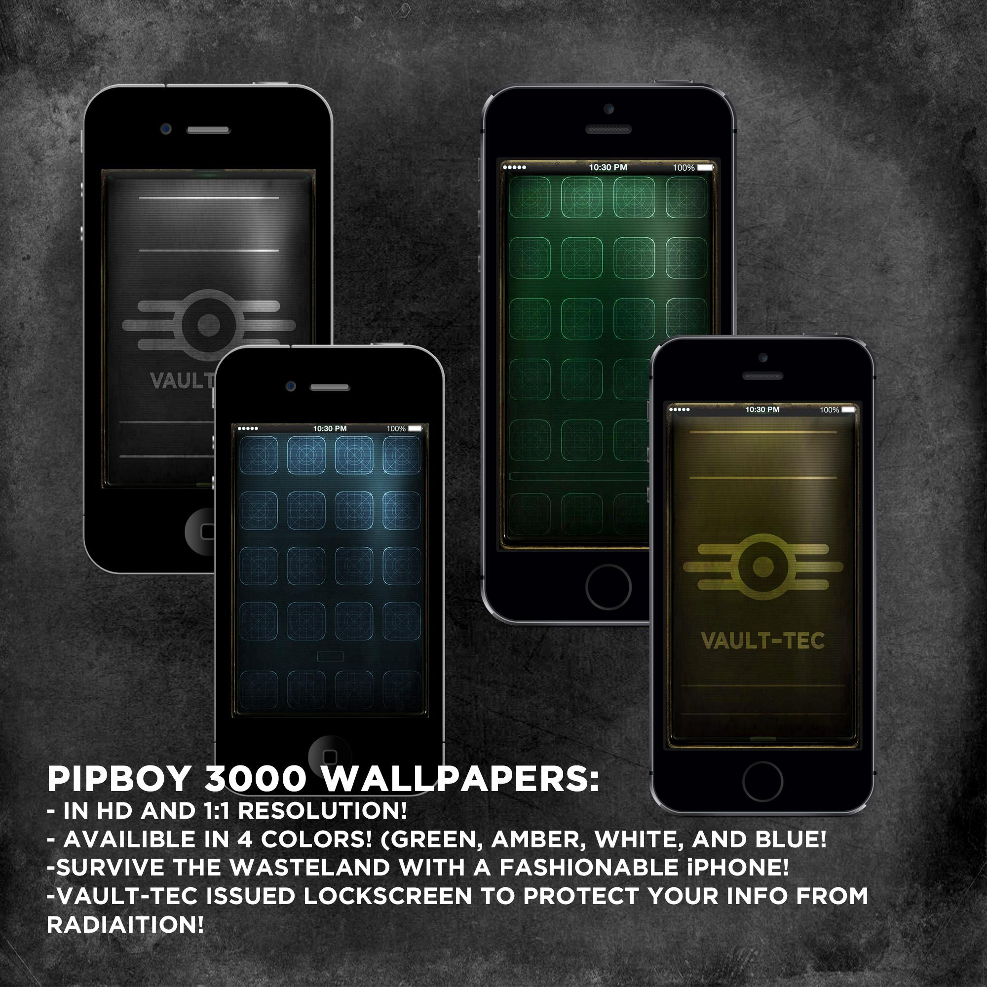 fallout equestria iphone wallpaper