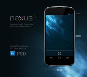Nexus 4 .PSD
