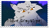 Graystripe stamp! by Fishtailholly