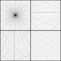Photoshop Perspective Grid Brushes