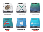 6 HDD Icons
