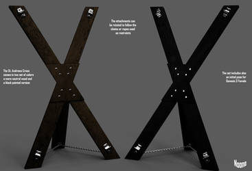 FREEBIE : St Andrews Cross for BDSM - Daz Studio by Noone102000