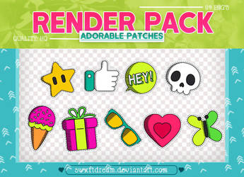 +Adorable Patches x Render Pack by swxftdream