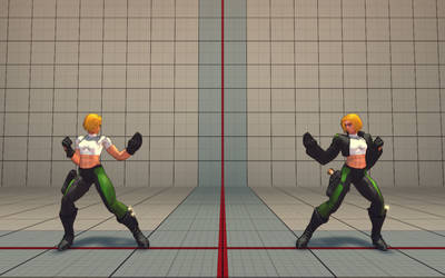 Cammy as Abbey Chase