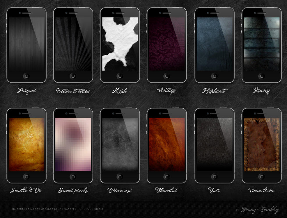 Game Over Iphone 4 Wallpapers Free 640x960 Hd Ipod Touch: Some HD Wallpapers For IPhone By GrunySo On DeviantArt