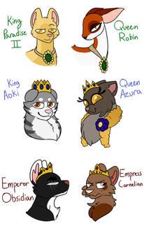 Kingdom Rulers