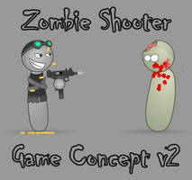 Zombie Shooter Game Concept v2 by UTGrim