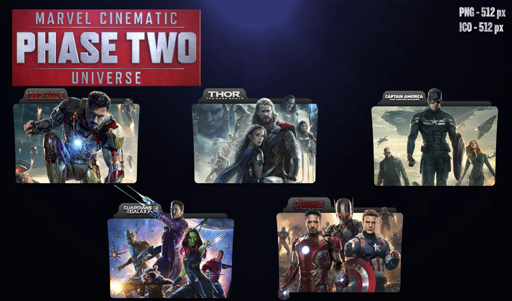 Marvel Cinematic Universe: Phase Two By Rdamanthys On DeviantArt