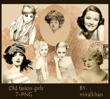 old fasion girls-7 PNG by miralkhan