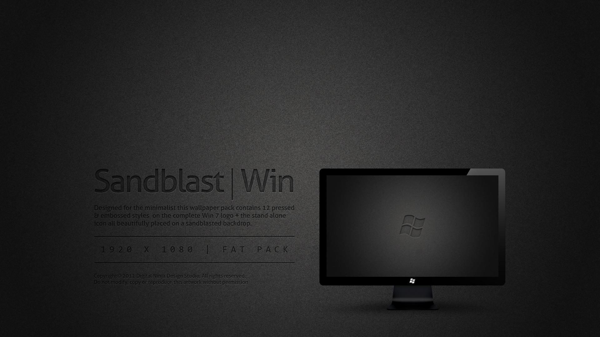 Sandblast Win 7 by DNStudios