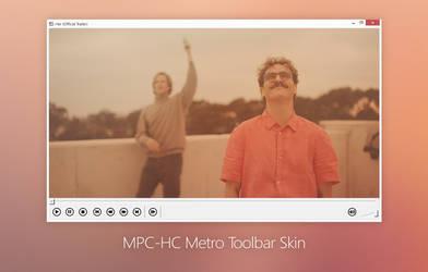 MPC-HC Metro Toolbar Skin by bicycleestate