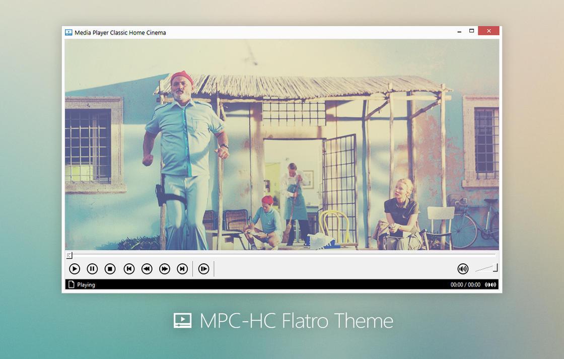 MPC-HC Flatro Theme by bicycleestate
