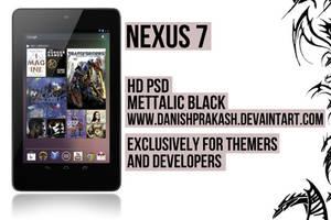 Nexus 7 PSD by danishprakash