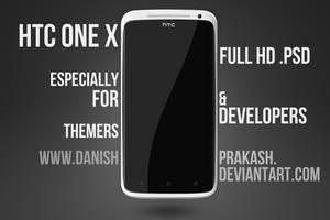 HTC One X [psd] by danishprakash