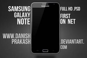Samsung Galaxy Note [psd] by danishprakash