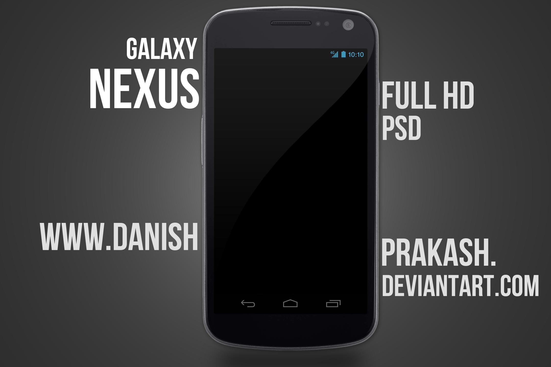Galaxy Nexus [psd]