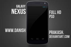 Galaxy Nexus [psd] by danishprakash
