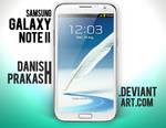 Samsung Galaxy Note II [White] [psd]