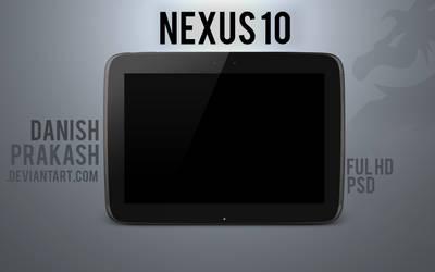 Nexus 10 [psd]