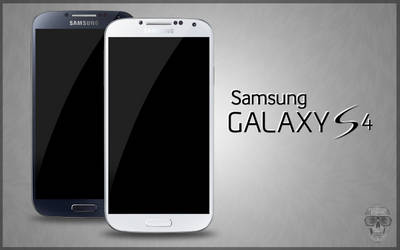 Samsung Galaxy S4 PSD Black White