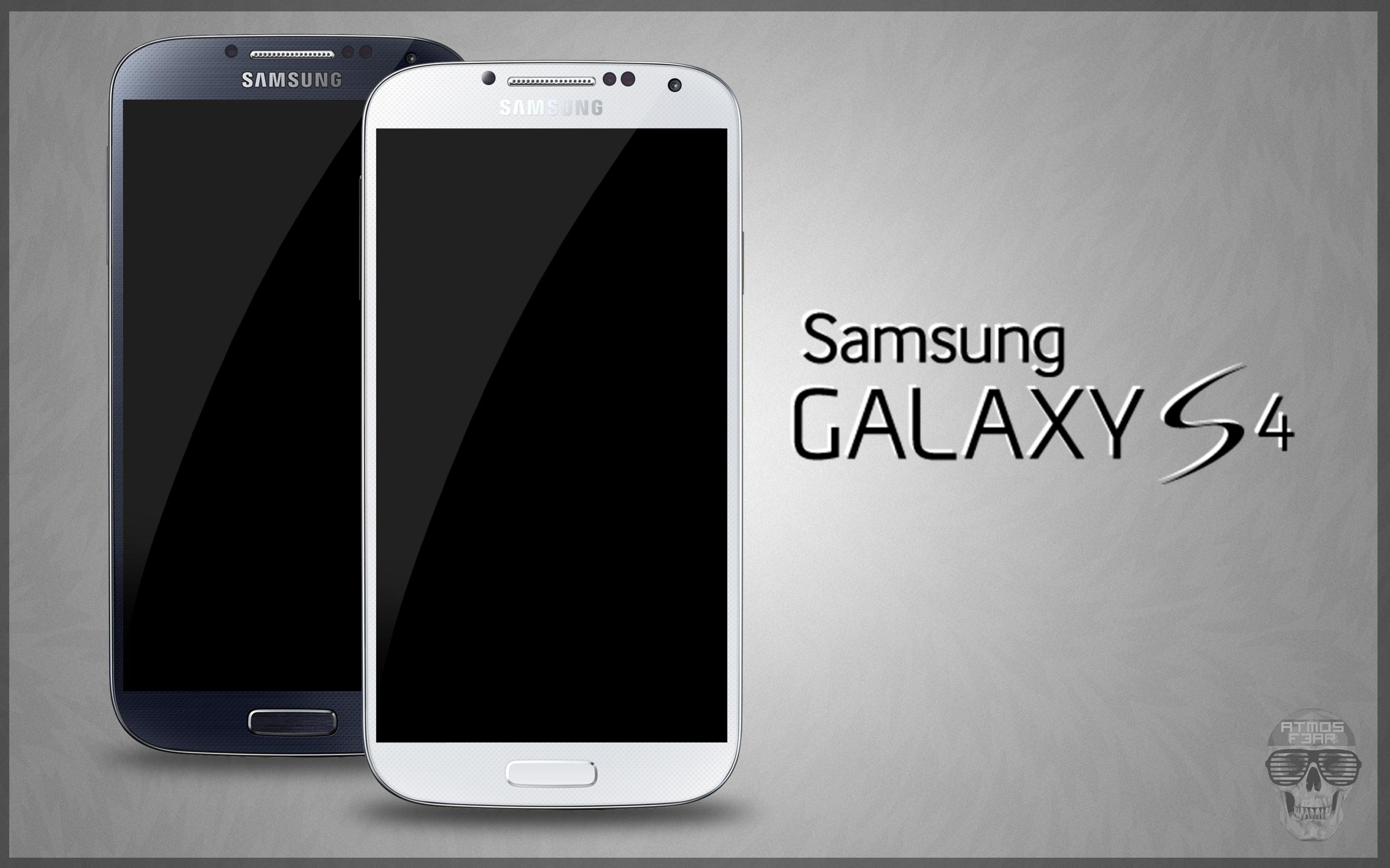 Samsung Galaxy S4 PSD Black White by danishprakash