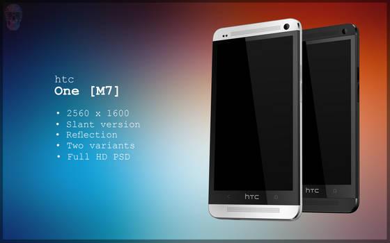 HTC One Slant PSD