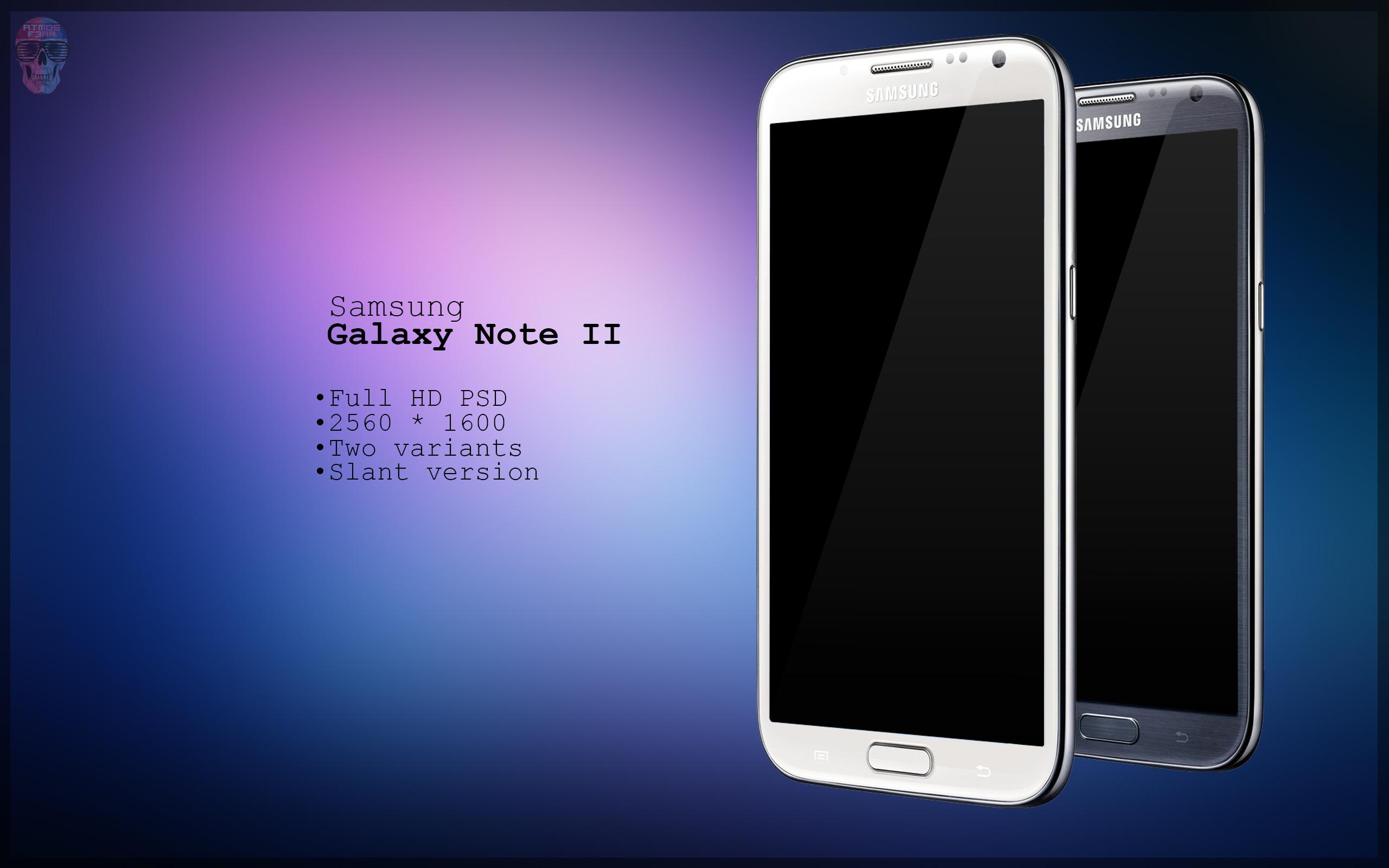 Samsung Galaxy Note 2 Logo Vector Samsung Galaxy Note 2 Slant