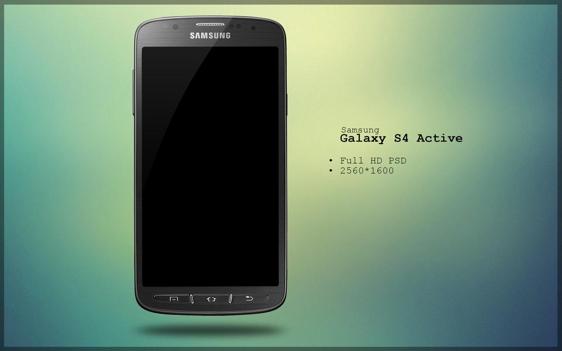 Samsung Galaxy S4 Wallpaper 12: Samsung Galaxy S4 Active PSD By Danishprakash On DeviantArt