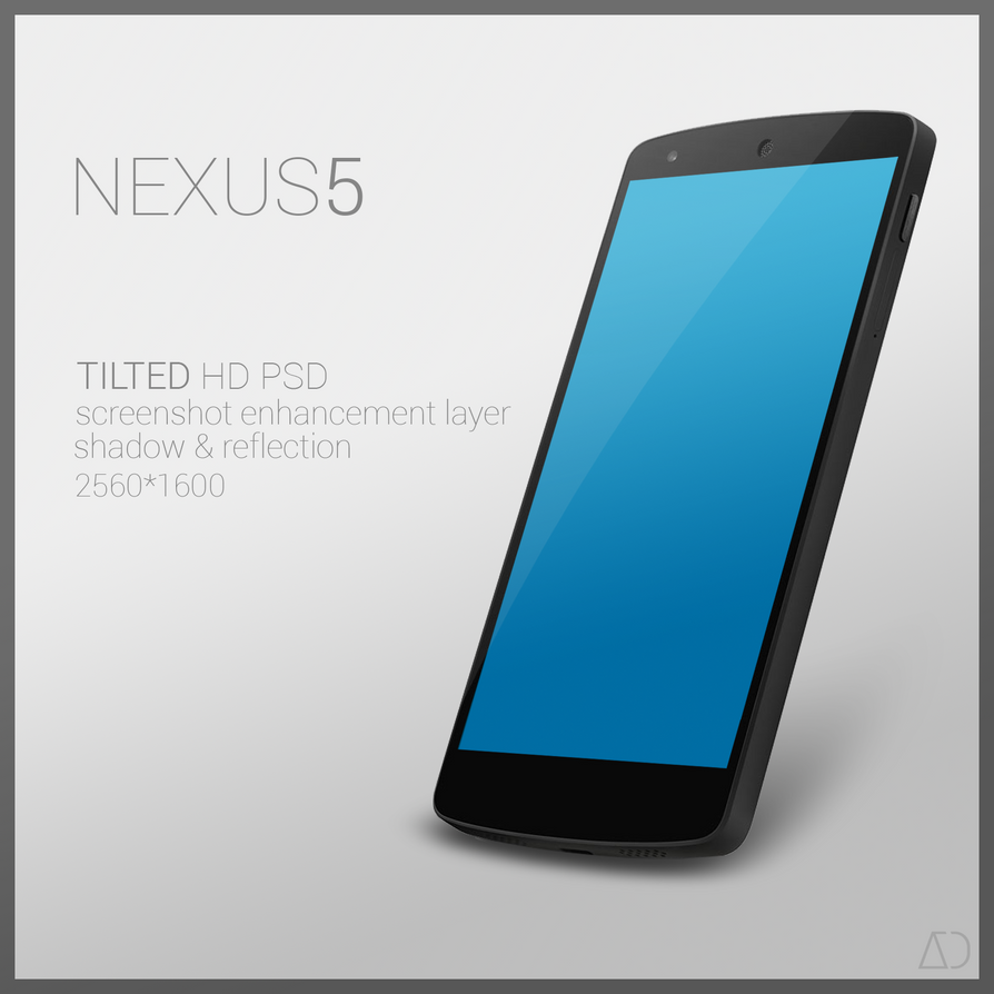 Nexus 5 Psd Tilted By Danishprakash On Deviantart