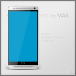 HTC One MAX : PSD