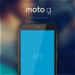 Moto G : PSD by danishprakash